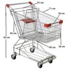 Trolley Belanja Supermarket 60 liter troli 2