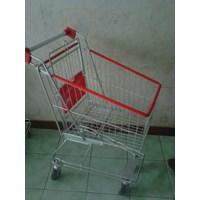 Trolley Belanja Supermarket 60 liter