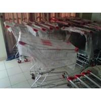 Jual Trolley Belanja Supermarket 100 liter 2