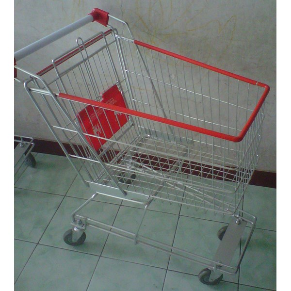 Trolley Belanja Supermarket 100 liter troli