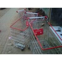 Jual Trolley Belanja Supermarket 180 liter 2