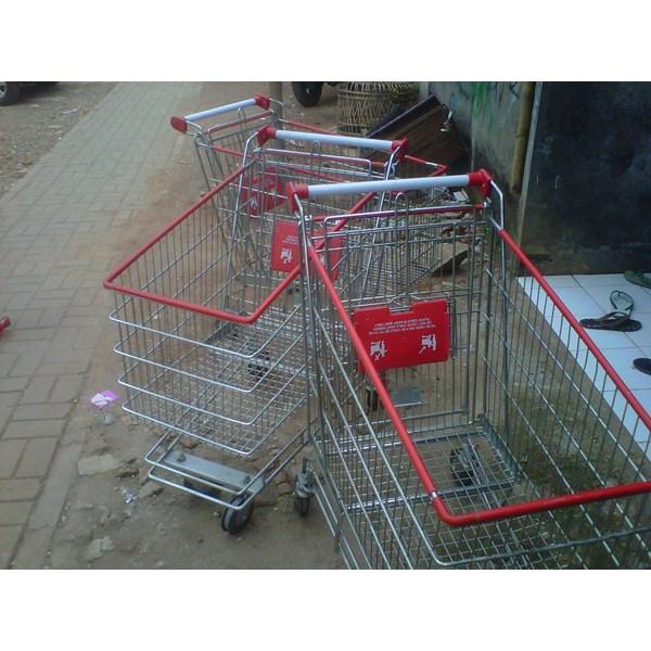 Trolley Belanja Supermarket 180 liter troli