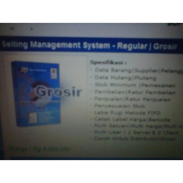 Sistem Manajemen Grosir