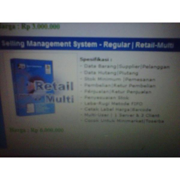Sistem Manajemen di Retail - Multi