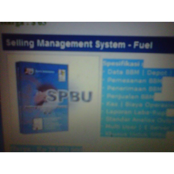 Sistem Management di SPBU