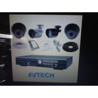 Jual Paket Kamera CCTV Avtech 4 Channel