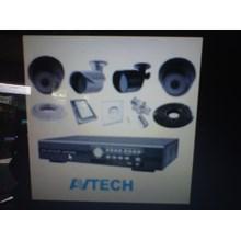 Paket Kamera CCTV Avtech 4 Channel
