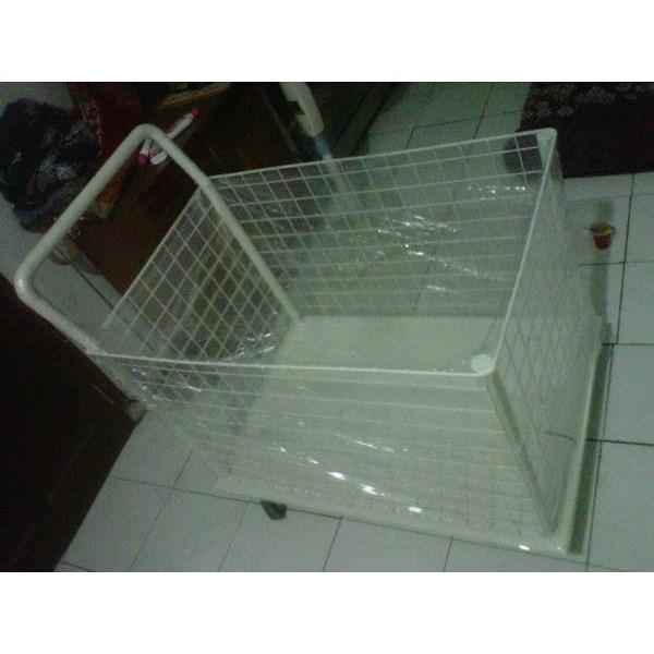 trolley keranjang netting / Troli Netting