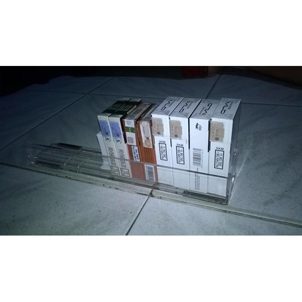 Rak Display Rokok Type Sliding