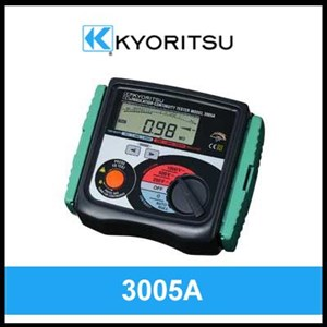 Kyoritsu Digital Insulation or Continuity Tester 3005A