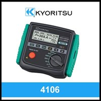 Kyoritsu Earth Resistance & Resistivity Tester 4106