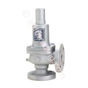 Safety valve cast iron flange