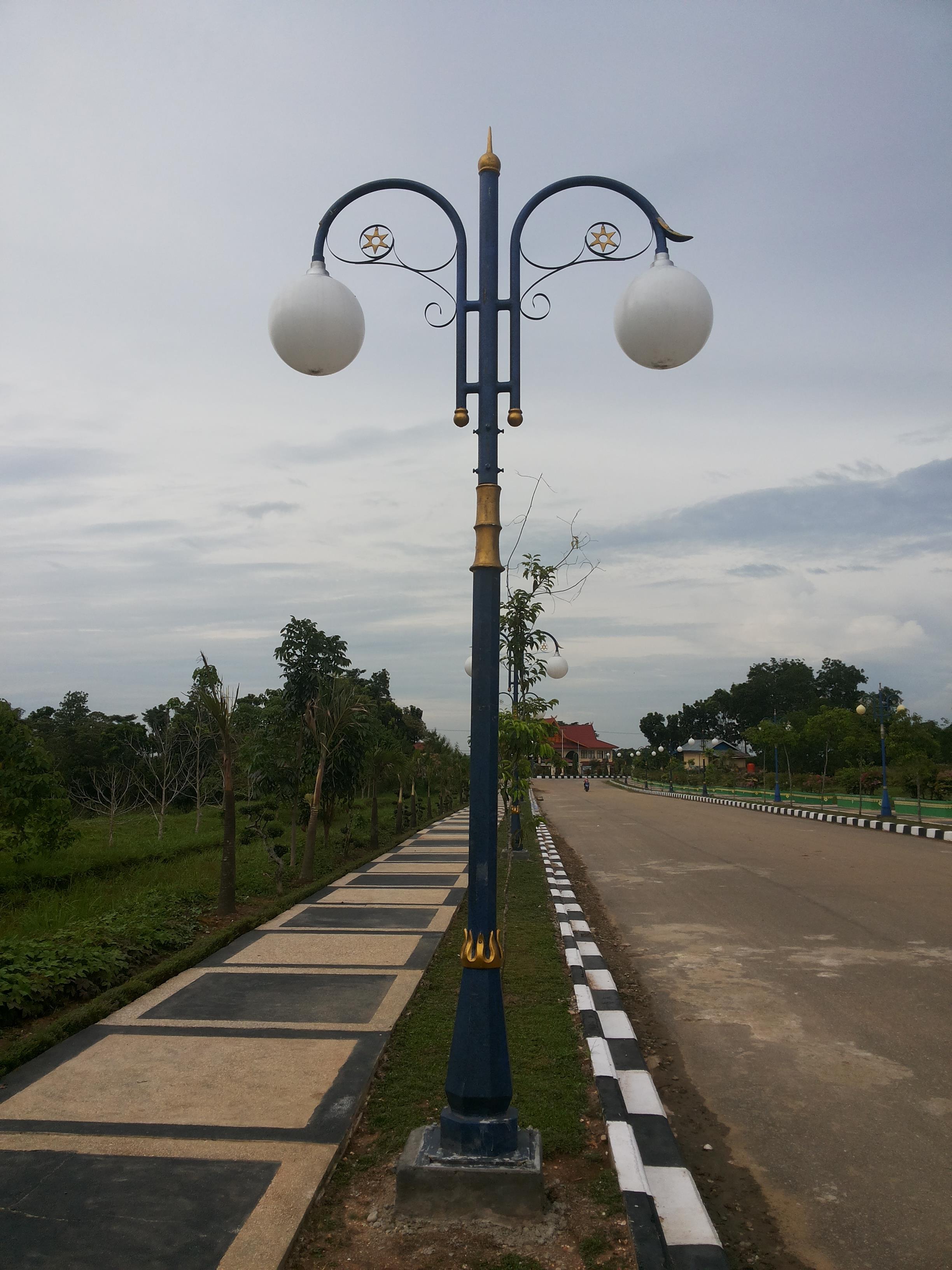 Jual Tiang Lampu Taman Type Bina Praja Harga Murah Jakarta