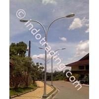 Tiang lampu PJU Octagonal 1