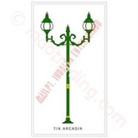 Tiang Lampu Taman Arcadia 1
