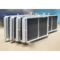 Jual Air Cooled Heat Exchanger Air Heater Cooling Coil Steam Coil