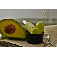 Traditional Food-Ice Candles Taste The Avocado