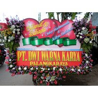 Bunga Papan Wedding 1