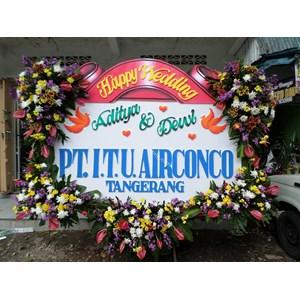 Bunga Papan Pernikahan 02