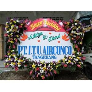 Bunga Papan Wedding Murah 085730060673