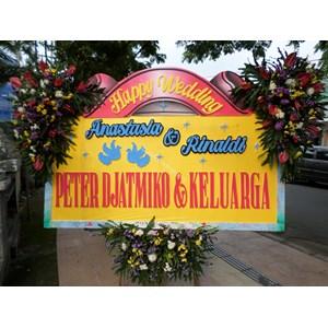 Bunga Papan Pernikahan 09