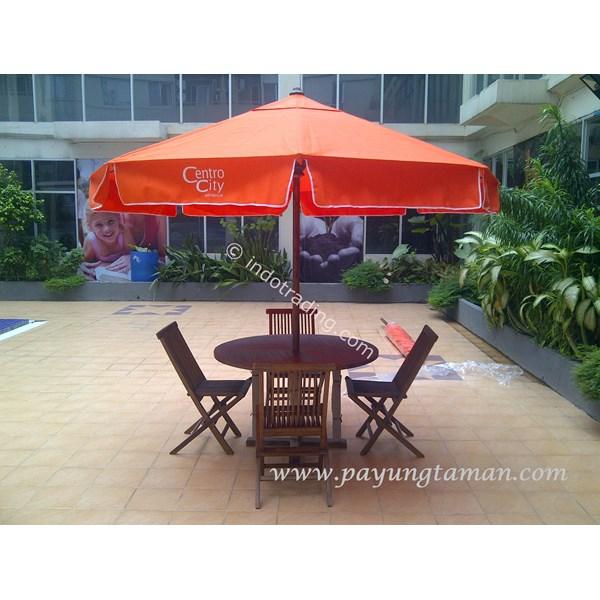 Umbrellas Swimming Pool Type 3