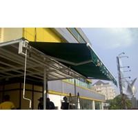 Beli Awning Gulung Sunbrella 4