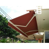 Distributor Awning Gulung Sunbrella rumah 3