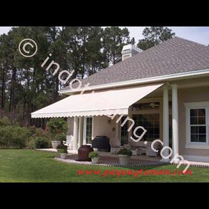 Awning Gulung Sunbrella rumah