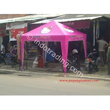 Hello Kitty Tents Promotion