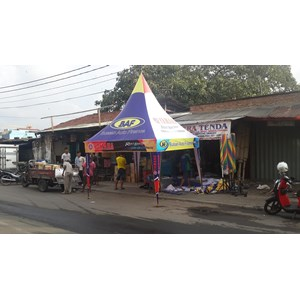 Tenda Kerucut Bikers Both