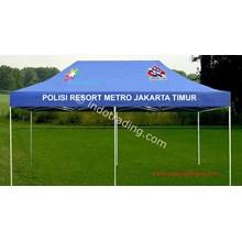 Tenda lipat Promosi Frisan Flag