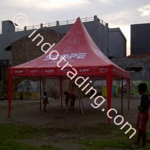 Tenda Kerucut Promosi Scope
