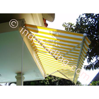 Canopy Sunbrella Motif Garis 1