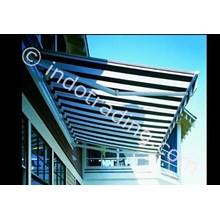 Canopy Sunbrella Motif Garis 2