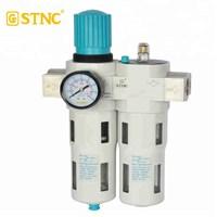 "STNC LFC-08 1/4"" filter regulator lubricator angin 16 BAR"
