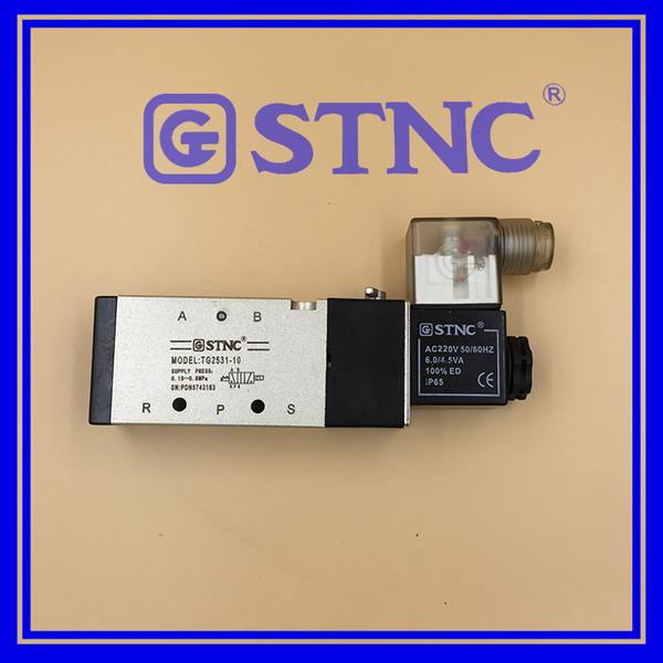 STNC Solenoid Valve TG2531-10 AC220V 5/2 Way