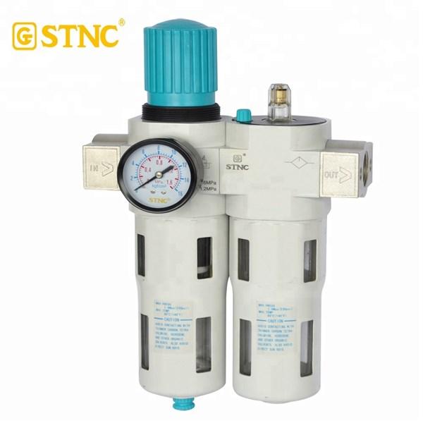 "STNC LFC-15 1/2"" filter regulator lubricator angin 16 BAR"