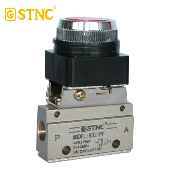 Mechanical Valve G321 PP 2/2 way STNC