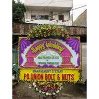 Papan Bunga Wedding Tipe 3 1