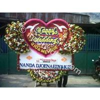 Papan Bunga Wedding Tipe 7 1