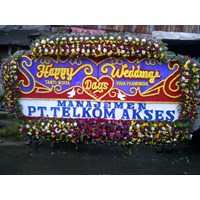 Papan Bunga Wedding Tipe 11 1
