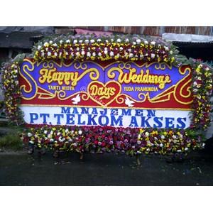 Papan Bunga Wedding Tipe 11