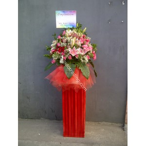 Standing Flower Ucapan Selamat Tipe 5