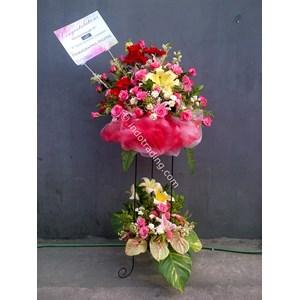 Standing Flower Ucapan Selamat Tipe 7