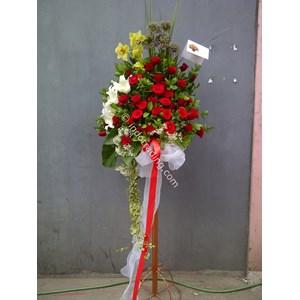 Standing Flower Ucapan Selamat Tipe 8