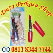 Vibrator Lipstik Alat Penggeli Vagin4 Wanita Terba