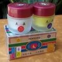 Distributor Obat Krim Pemutih Wajah Alami Permanen Cream Memutihkan Kulit Wajah Dan Merawat Muka Secara Alami Cream Perawatan Wajah Muka Tensung Whitening + Sabun Pemutih 3