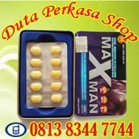 Obat Pria Tahan Lama Tanpa Efek Samping Obat Suplemen Dan Vitamin Pembangkit Stamina Pria Dewasa Maxman Usa 1