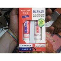 Jual Cream Penghilang Jerawat Wajah Muka Alami Ampuh Obat Penyembuh Jerawat Dan Mengobati Semua Jenis Jerawat Secara Alami Asli Cream Perawatan Wajah Yofume Anti Acne 2